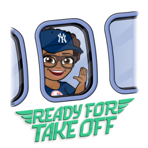 travel bitmoji