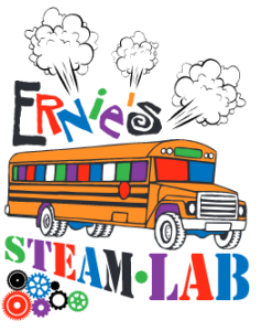 Ernie's STEAM bus multi color